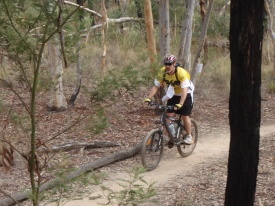 Capn on the single track